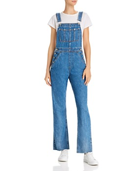 rag & bone - Ruth Straight-Leg Denim Overalls