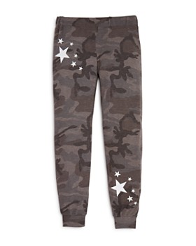 Play Six - Girls' Star Print Camo Jogger Pants - Little Kid