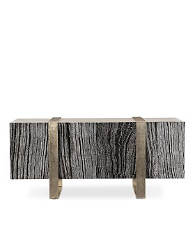 Bloomingdale's - Linea Marble Entertainment Console