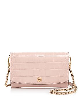 Tory Burch - Robinson Embossed Leather Wallet Shoulder Bag