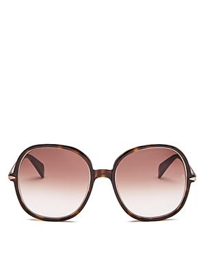 Rag & Bone Sunglasses Women's Round Sunglasses, 59mm