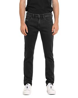 Diesel - Thommer Slim Fit Jeans in Black Denim