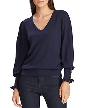 Ralph Lauren - Button-Cuff Sweater