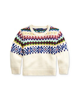 Ralph Lauren - Boys' Snowflake Sweater - Little Kid