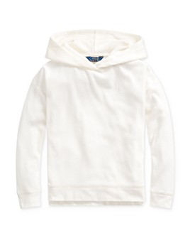Ralph Lauren - Girls' Waffle-Knit Hooded Tee - Big Kid