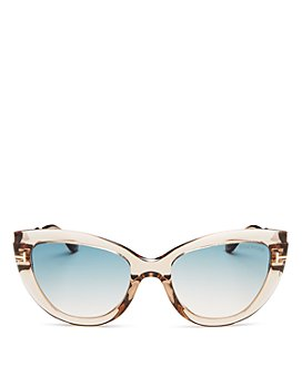 Tom Ford - Women's Anya Polarized Cat Eye Sunglasses, 55mm