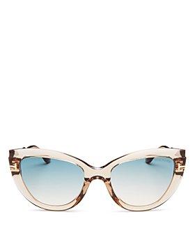 Tom Ford - Women's Anya Polarized Cat Eye Sunglasses, 55mm