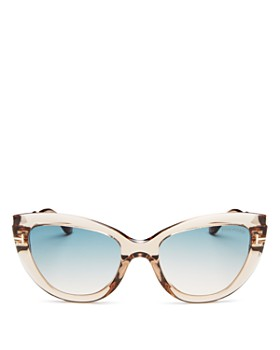Tom Ford - Tom Ford Women's Polarized Cat Eye Sunglasses, 55mm