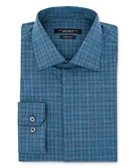John Varvatos Star USA - Glen Plaid Regular Fit Dress Shirt