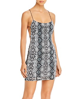 Tiger Mist - Cobra Strappy Body-Con Dress