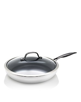 "GreenPan - Venice Pro Noir 12"" Covered Frypan"