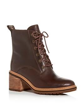 Timberland - Women's Sienna Waterproof Block-Heel Booties