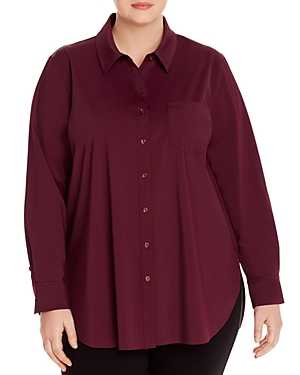 Lysse Plus Schiffer Button-Down Top