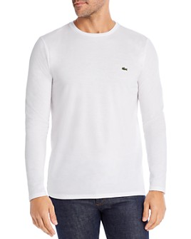 Lacoste - Long-Sleeve Pima Cotton Tee
