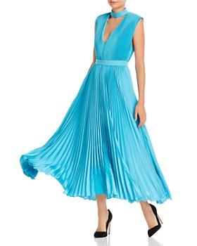 Alice and Olivia - Joleen Pleated Midi Dress
