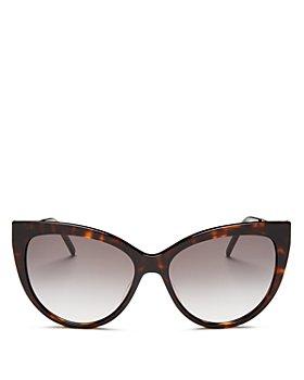 Saint Laurent - Women's Cat Eye Sunglasses, 56mm