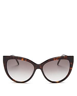 Saint Laurent Women\\\'s Cat Eye Sunglasses, 56mm-Jewelry & Accessories