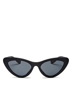 Miu Miu Women's Slim Cat Eye Sunglasses, 55mm