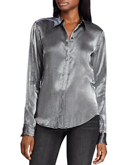 Ralph Lauren - Metallic Blouse