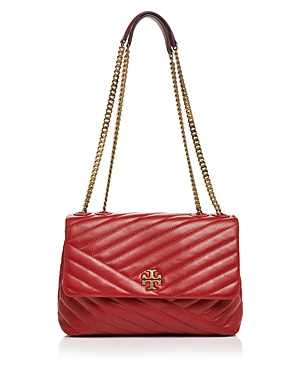 Tory Burch Kira Chevron Leather Shoulder Bag