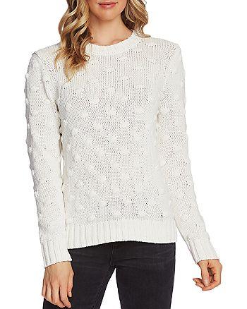 VINCE CAMUTO - Popcorn-Stitch Sweater