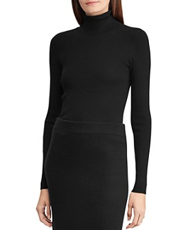 Ralph Lauren - Ribbed Turtleneck Sweater