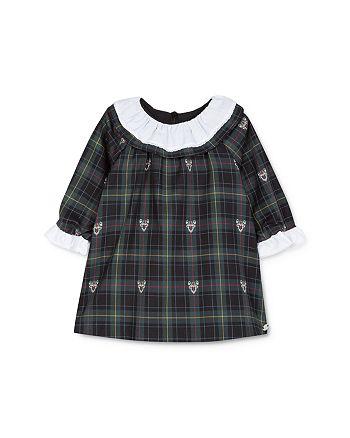 Tartine et Chocolat - Girls' Deer Print Plaid Dress - Baby