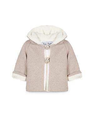 Tartine et Chocolat Girls' Hooded Sweater Coat - Baby