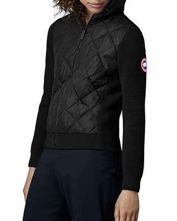 Canada Goose - Quilted Knit Hooded Jacket