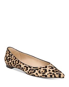 Sam Edelman - Women's Sally Leopard-Print Ballet Flats