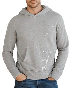 Velvet by Graham & Spencer - Paint-Splatter Hooded Sweatshirt