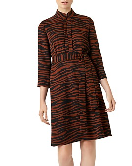 HOBBS LONDON - Lois Zebra Print Dress