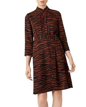 HOBBS LONDON - Lois Zebra Print Dress