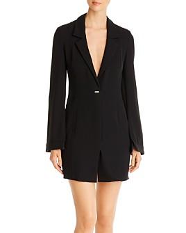 Armani - V-Neck Mini Blazer Dress
