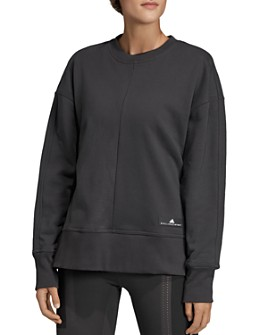 adidas by Stella McCartney - Side-Slit Sweatshirt