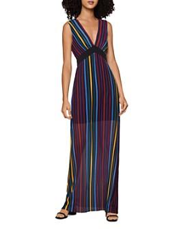 BCBGENERATION - Rainbow-Stripe Maxi Dress
