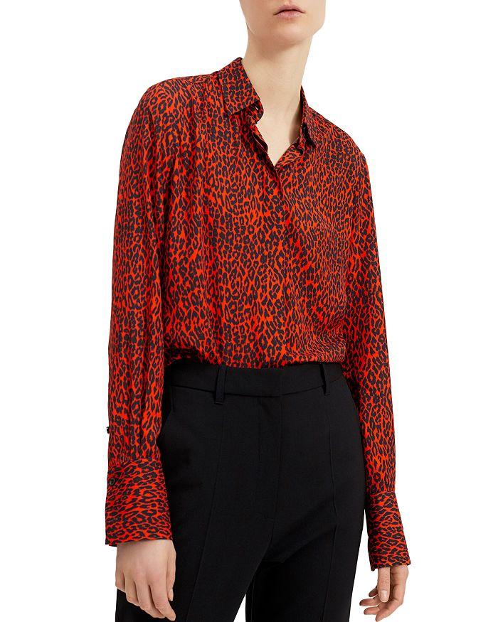 Barbara Bui - Leopard-Print Button-Down Shirt