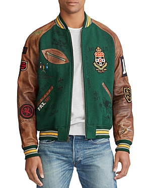 Polo Ralph Lauren Jackets Varsity-Inspired Jacket