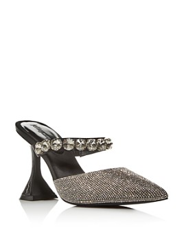 Jeffrey Campbell - Women's Zavot Embellished High-Heel Mules