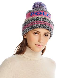 Polo Ralph Lauren - Pom-Pom Wool Logo Beanie