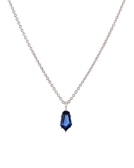 "Nadri - Eliza Small Pendant Necklace, 15""-18"""