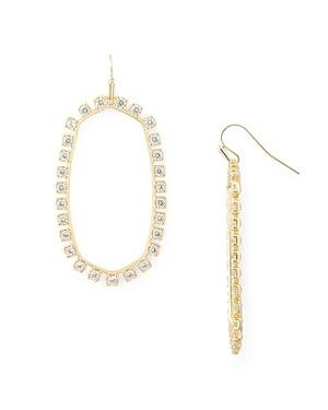Kendra Scott Danielle Open Frame Drop Earrings-Jewelry & Accessories