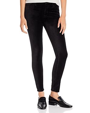 7 For All Mankind Jen7 By  Velvet Skinny Ankle Jeans In Black
