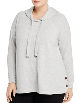 Cupio Plus - Side-Button Hoodie