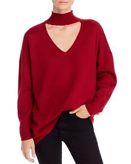 Alice and Olivia - Alcott Cutout Sweater