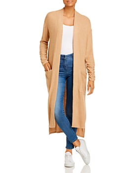 1.STATE - Waffle-Knit Duster Cardigan