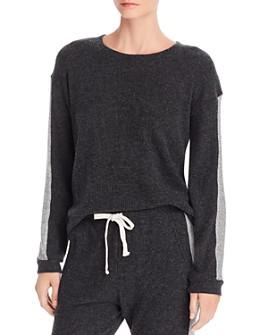 Monrow - Waffle-Knit Sweatshirt