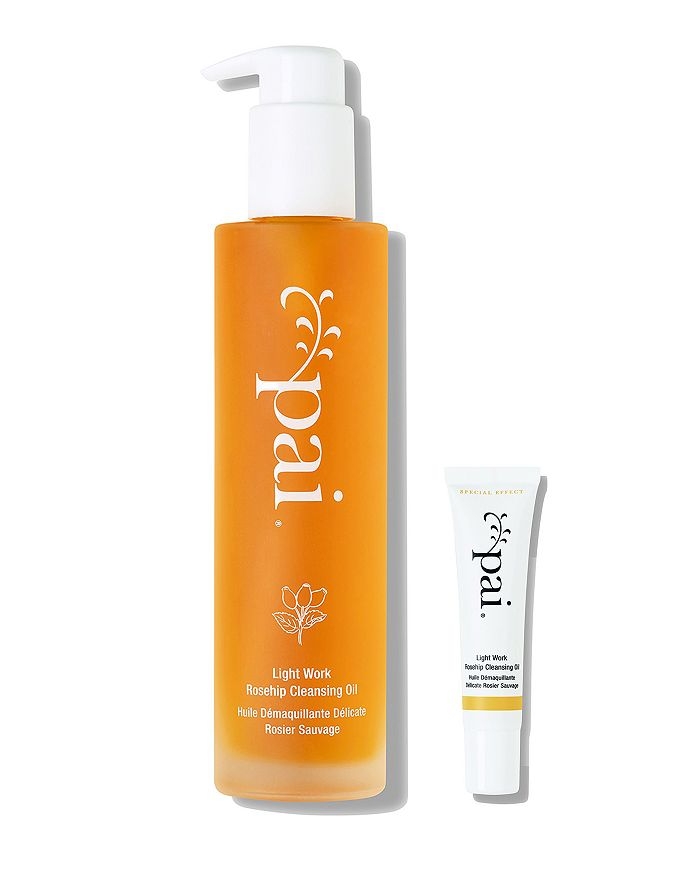 Pai Skincare Light Work Rosehip Cleansing Oil Home & Away Set ($66 Value)