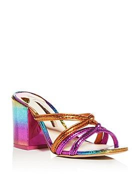 Sophia Webster - Women's Freya Glitter Block-Heel Sandals