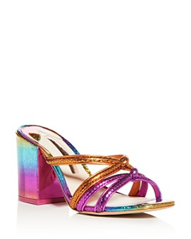 Sophia Webster - Women's Freya Glitter Block-Heel Sandals